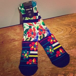 🔥 NEW Stance Floral/Tropical Style Socks L-XL 🔥